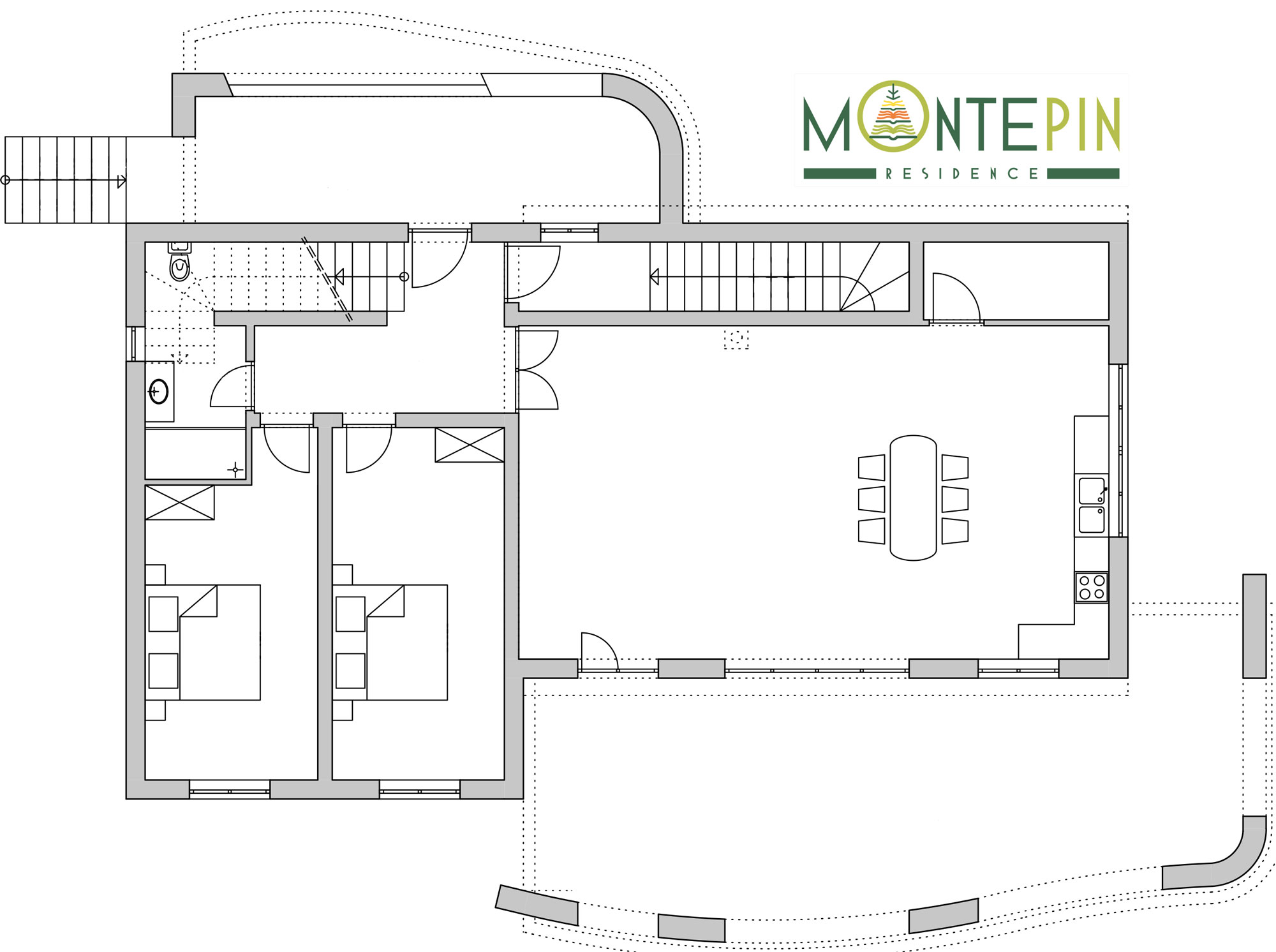 Main House – Groud Floor